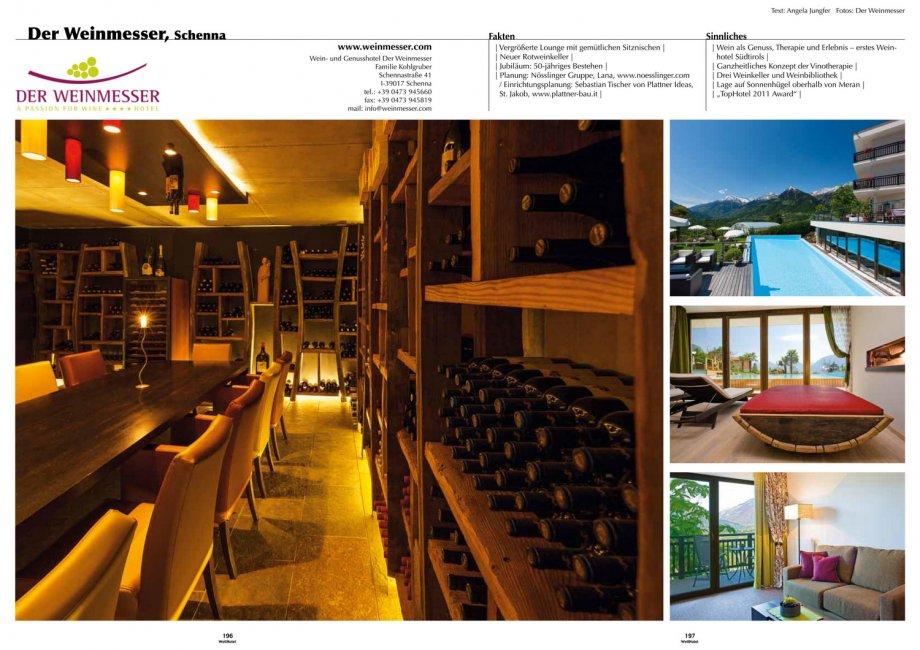 Hotel weinmesser wellhotel presse news interior for Interior design gmbh